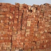 SOLID COMMON SEWER BRICK         525 PCS PER CUBE! 105 PCS PER STRAP ! *EITHER 213-Y OR HARVARD FLASHED *CERT. AVAILABLE UPON REQU(bottom or faced type)