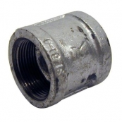 1/2 GALV MALLEABLE COUPLING