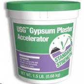 1.5 LB. PLASTER ACCELERATOR     