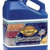 1000 CABOT GAL.CLR WATERPROOFING
