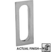 222B26 FLUSH DOOR PULL POL CHRM  CLO
