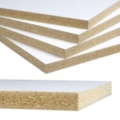 "4X8-3/4"" WHITE MELAMINE / 2 SIDE