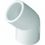 30607 3/4 SXS PVC 45DEG ELBOW