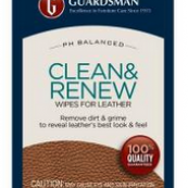470200 LEATHER CLEANER WIPES GUARDSMAN