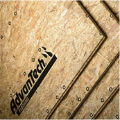 "4X8-5/8"" T&G ADVANTECH UNDERLAYMENT/STRUCT1 RATED HUBER #S-12101 19/32 T&G FLOOR"