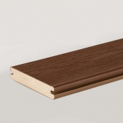 TROPICAL 5/4X6-16'CARIB.REDWOOD GROOVED TIMBERTECH DECKING