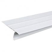 "55045 WHITE ALUMINUM DRIP EDGE  2.33""W X 1.5""H X 10'L"