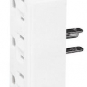 1147W-BOX WHT 3OUT 3WIRE TAP