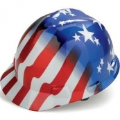 10055139 PATRIOTIC HARD HAT USA