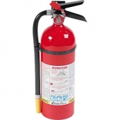 PRO10 EXTINGUISHER 10LB RED 4-A:60-B:C