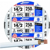 14/2NMWGX250 CABLE 250FT 14/2N/M WG