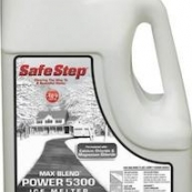 57812 12LB SAFE STEP ICE MELTING GRANULES(MAGNESIUM & CALCIUM CHLORIDE)POWER 5300*BLACK JUG*