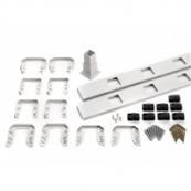 TREX 8' INFILL KIT SQ BAL STAIR WHITE  (WTSQSIK08)