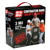 GRIP RITE HD CNTRCT TRSH BG 20CT