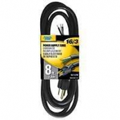 OR010608 APPLIANCE CORD 16/3X8FT