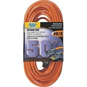 OR501630 EXT CORD 16/3X50FT ORNG