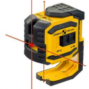 03180 X300 Stabila X-Line ProLiner Cross Line Laser Plus Plumb Points Self-leveling