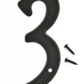 4IN BLACK PLASTIC #3