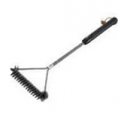 WEB-6493 3-SIDED GRILL BRUSH 21IN