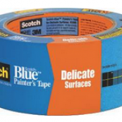 """2080-48 1.88""""X60YD 3M DELICATE SURFACE (SAFE RELEASE) NOT THE STANDARD BLUE TAPE!"""