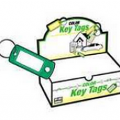 KB138-200 KEY TAG W/SPLIT RING
