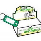 KB138-200 KEY TAG W/SPLIT RING