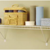 "1041 STORAGE SHELF KIT 12""X4'"