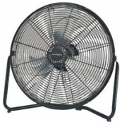 LF-18 FLOOR FAN HI VEL.18 IN BLK