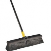 00520 24 HORSE HAIR PUSHBROOM