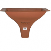 """RAINESCAPE DOWN SPOUT            *CAN BE USED 12"""" & 16"""" ON-CENTER"""