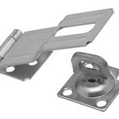 102-921 SWVL STAPLE HASP 4.5'   