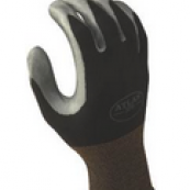 370BM-07.RT BLACK GLOVE MED