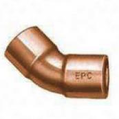 "31120 1""COPPER 45DEG ELBOW CXC WROT"