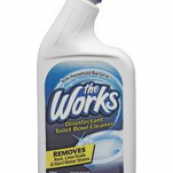 03310WK 32OZ.THE WORKS TOILET