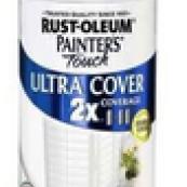 249090 12OZ 2X GLOSS WHITE SPRAY PAINT RUSTOLEUM ULTRA COVER