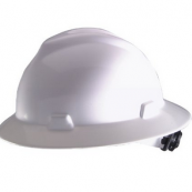 10006318 FULL BRIM HARD HAT WHT 