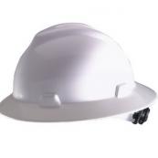 10006318 FULL BRIM HARD HAT WHT  NS