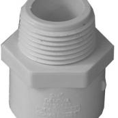 30407 PVC-40 3/4 MIP ADAPTER