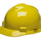 10102260 YELLOW HARD HAT W/RATCH