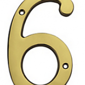 """207-225 6""""-#6 HOUSE NUMBER SB"""