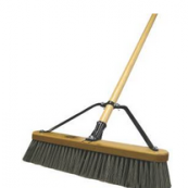 "00847 HDSUTRI 18"" POLY PUSHBROOM"