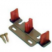 """2135PPK1 GUIDE FOR BYPASS DOORS 3/4"""" OR 1-3/8"""" DOORS"""