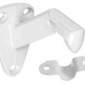 248-351 HANDRAIL BRACKET WHITE  