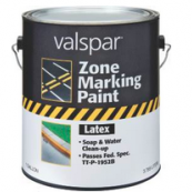 #136 VALSPAR GAL YELLOW TRAFFIC