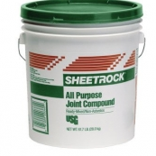 5 GAL. USG ALL-PURPOSE COMPOUND  GREEN LID ! (GREEN AND LEEDS INFO IN ATTACH)