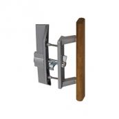 """349-191 ALUM PATIO DOOR HANDLE W/LATCH 1""""-1-1/4""""DOORS"""