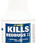 207W QT.BED BUG SPRAY J.T EATON  WATER BASED