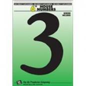 6IN BLACK PLASTIC #3