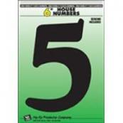 6IN BLACK PLASTIC #5