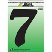 6IN BLACK PLASTIC #7